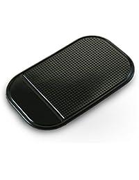 Alfombrilla antideslizante de coche - Soporte adhesivo para teléfonos móviles (14,5 x 8,6 cm)