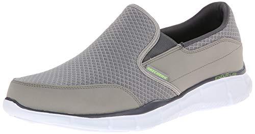 Skechers Herren Equalizer persistent Sneakers, Grau (GRY), 44 EU (Jungs Skechers Sportliche Schuhe)