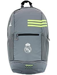 adidas Real Madrid Clima BP - Mochila, color gris / lima