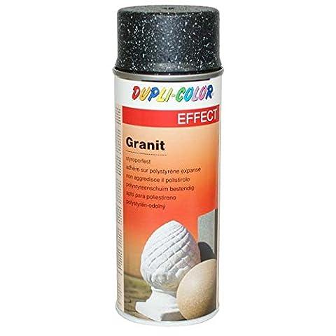 Bombe Vernis Motip - Duplicolor 607851 Granit Style Spray, Blanc, 400