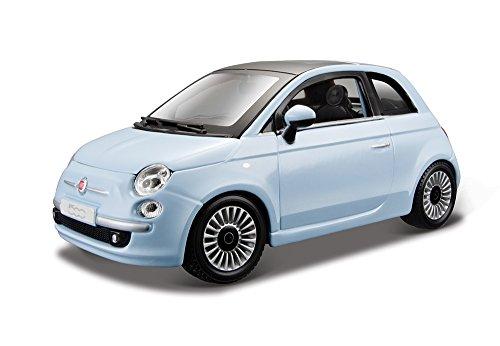 Preisvergleich Produktbild Bburago 15622106 - Fiat 500, 2007, 1:24(Farblich Sortiert)