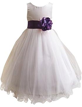 LSERVER Mädchen Prinzessin Kleid mit