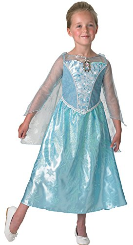 Musical Kostüm Elsa - Rubie's 3610363 - Elsa Frozen Musical - Light up Dress - Child, Verkleiden und Kostüme, L