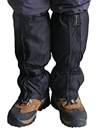 QHGstore 1 Pair Waterproof Outdoor Hiking Walking Climbing Hunting Snow Legging...