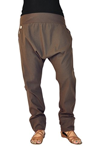 antalon bouffant élégant pour femmes, vêtements ethnique et pantalon ethnique, vêtements originaux de virblatt, taille unique S – L Pai Kaki