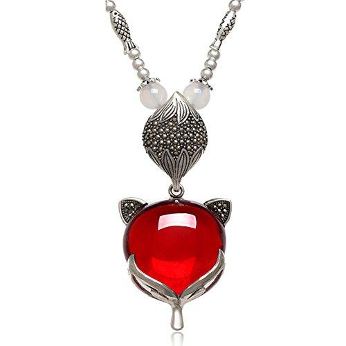 naturliche-obsidian-halskette-damen-mode-schmuck-anhanger-halskette-weissem-achat-perle-isolierung