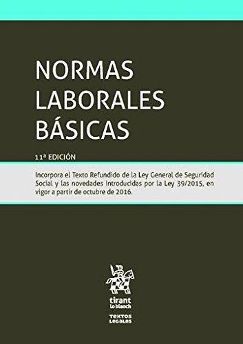 normas-laborales-basicas-11-edicion-2016-textos-legales