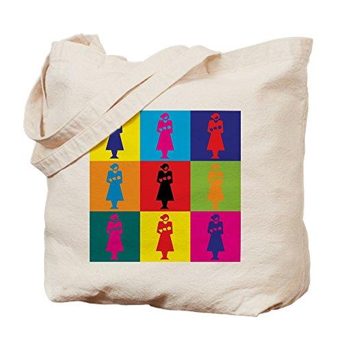 CafePress –-Pop Art–Leinwand Natur Tasche, Reinigungstuch Einkaufstasche Tote S khaki (Lieblings-khaki)
