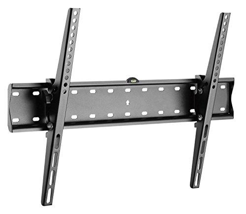 RICOO TV Wandhalterung N2164 Fernseh Universal Halterung Neigbar Aufhängung Curved LCD Wandhalter Fernseherhalterung Wand Halter Flach 94-178cm 37-70 Zoll VESA 200x200 600x400 Schwarz