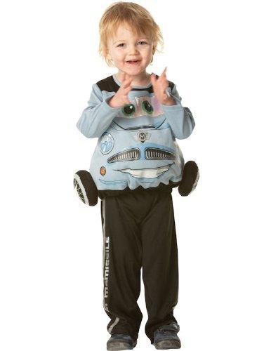 Rubie's costume di carnevale, soggetto: finn mcmissile, da bambino, taglia s (3-4 anni), imbottito, in 2 parti
