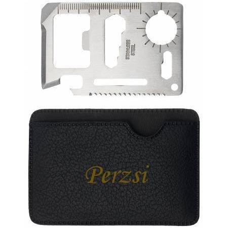 Preisvergleich Produktbild Mehrzweckwerkzeug mit gravierten Halter mit Namen: Perzsi (Vorname/Zuname/Spitzname)
