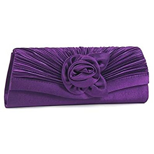 Eleoption, Poschette giorno donna Purple