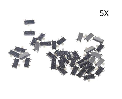 5X MINI SWITCH 7-Pin On/Off 1P2T SPDT MSK-12C02 SMD MP3 MP4 TABLET PC Audio Kabel -