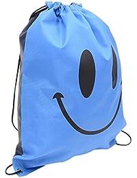 Designeez Large Shoulder Backpack Drawstring Sliced Garment Storage Bag Waterproof Bag Shoe Bag Beach Swimming... - B079Q1GN26