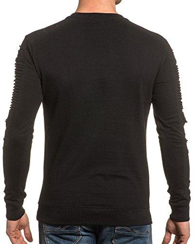 BLZ jeans - Sweat shirt uni noir Noir