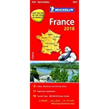 France 2018 (Michelin National Maps)
