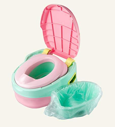 Sacchetti usa e getta per vasini da viaggio, per imparare a usare il vasino, si adatta alla maggior parte delle sedie, confezione da 50