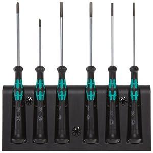 Wera Kraftform 2067 Micro Screwdriver Set - Torx Tip 6 Piece Set by Wera