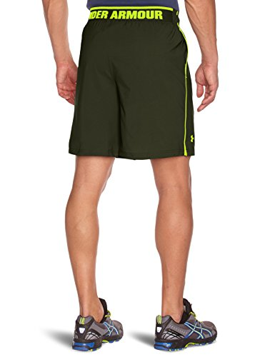 Under Armour Herren Shorts Mirage Rifle Green/High-Vis Yellow
