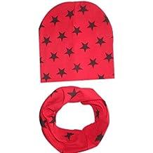 Koly Muchachas de los bebés infantil para niños de la bufanda pañuelo Niño Sombreros Sombreros gorra