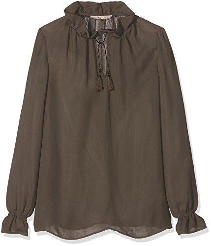 Pennyblack Elda, Camicia Donna, Verde Kaki, 42