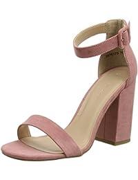 New Look Riches 7, Zapatos con Tacon y Correa de Tobillo Para Mujer