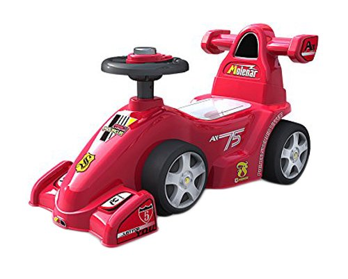 ANDADOR RIDE ON CAR FORMULA ROJO CHIPOLINO