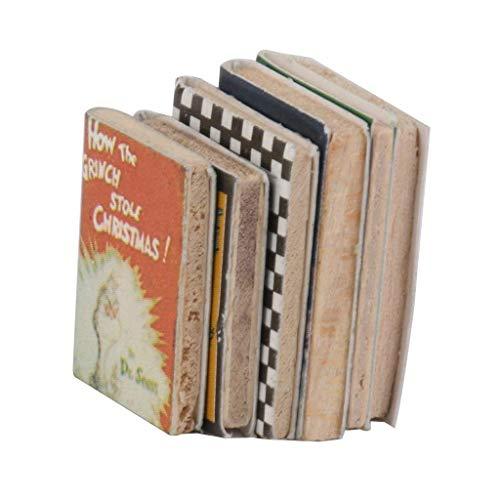 Naisicatar 1:12 Libros Decoración Casa de muñecas en Miniatura para decoración Conjunto...