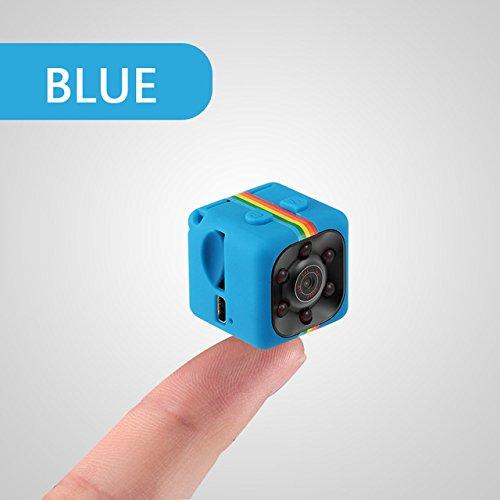 Hykis - Mini-Kamera-HD-Camcorder-Nachtsicht-Aktion Kamera 1080P Luft Sport DV Sprachvideorekorder deportiva mit TF-Slot [blau 16G]