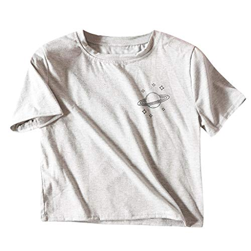 Las Mujeres de Moda de Verano de Impresión de la Camiseta...