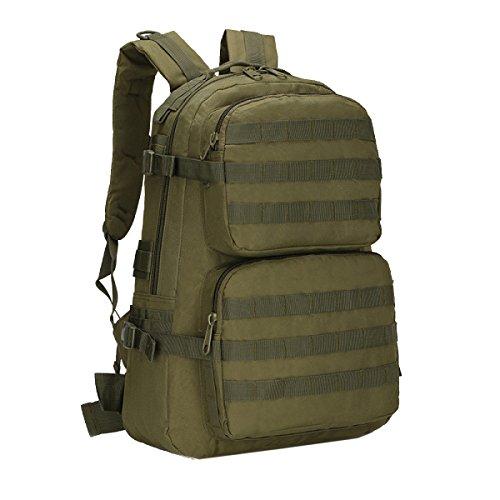 Yy.f Zaino Militare All'aperto Borsa A Tracolla Tattica Camuffamento Tour 3D Campeggio Borsa Da Montagna Pacchetto Speciale Di Combattimento Forze Speciali. Multicolore Green