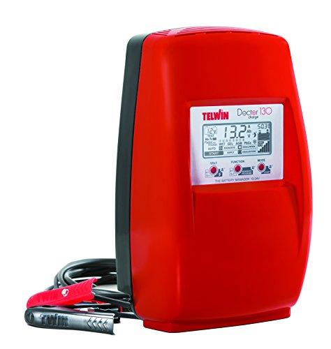 Telwin - Chargeur de batterie électronique 230V monophasé 12-24V - DOCTOR CHARGE 130