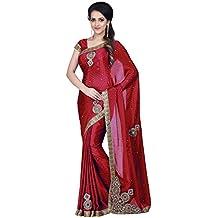 SareeShop Women's Kanjivaram Silk Saree With Blouse