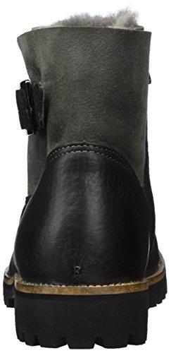 Blackstone Ol06, Stivali Donna Grigio