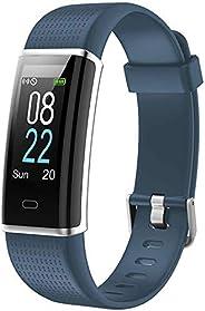 Willful Orologio Fitness Uomo Donna Smartwatch Fitness Tracker Cardiofrequenzimetro da polso Contapassi Calori