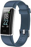 Willful Smartwatch Orologio Fitness Uomo Donna Fitness Tracker Cardiofrequenzimetro da Polso Contapassi Calorie Sonno...