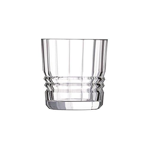 Cristal d'Arques L6695 Lot DE 6 Gobelets, Cristallin, Transparent, Taille Unique