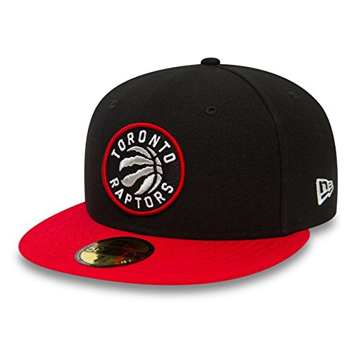 New Era Toronto Raptors 2-Tone Team 59FIFTY Fitted NBA Cap, 7 1/4 Two Tone Fitted Cap