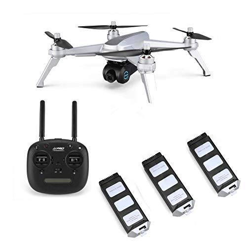 1080P HD WiFi Kamera Live Video und GPS Automatische Rückgabe Quadrocopter mit Bürstenlosen Motor & 90 Einstellbare Kamera,Folge Mir, Langer Regelbereich, Höhe halten ()
