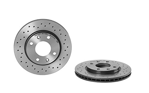 Preisvergleich Produktbild Brembo Xtra 09.5196.1X - Vordere Bremsscheibe