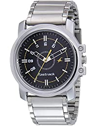 Fastrack Economy Analog Black Dial Men's Watch NM3039SM02 / NL3039SM02