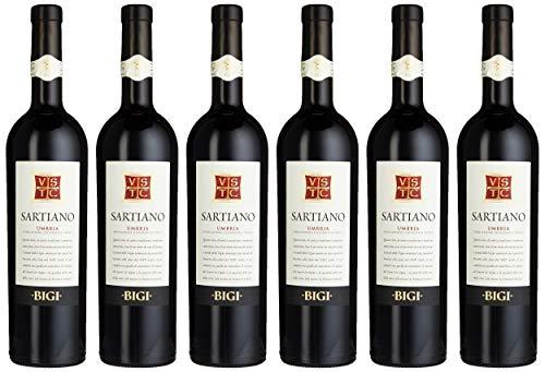 (Bigi Sartiano Umbrien Rotwein trocken (6 x 0.75 l))