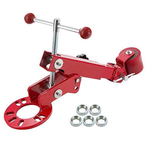 Arebos Bördelrolle PKW Fenderroller Bördelgerät für Kotflügel Bördelwerkzeug
