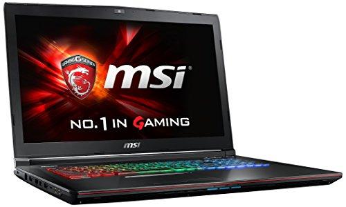MSI GE72-6QF8H1FD 43,9 cm (17,3 Zoll) Laptop (Intel Core i7 -6700HQ (Skylake), 8GB DDR4 RAM, 1TB HDD, NVIDIA Geforce GTX 970M, kein Betriebssystem) schwarz (Msi-gaming-laptop Billig)