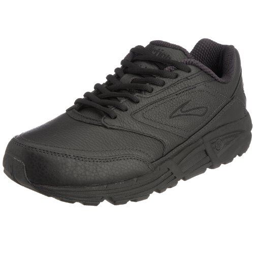 Brooks Addiction Walker,Herren Laufschuhe, Schwarz (Black), 45 EU (10 UK) (Walker-running-schuhe)