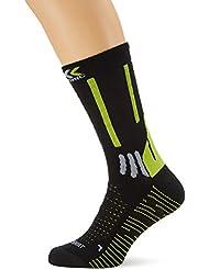 X-Socks effektor calcetines de senderismo pantalones cortos para hombre Varios colores Black/Grey/Lime Talla:45/47