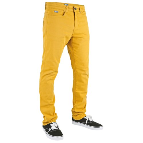 Superslick Tight Color Pant Slim Jeans Mustard Yel (Color-denim-jeans)