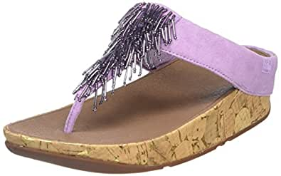 Cha Cha - Sandales Bout Ouvert - Femme - Purple (Dusty Lilac) - 38 EU (5 UK)FitFlop CM7s1AEE