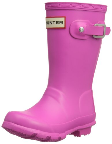 Hunter Original Kids', Unisex-Kinder Stiefel, Lipstick Pink, 20 (Kinder Original Hunter Stiefel)