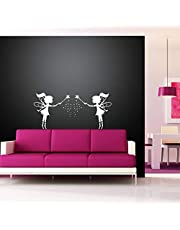 Kayra Decor Tinker Bell Reusable DIY Wall Stencil Painting for Home Decoration (PVC, 16-inch x 24-inch)